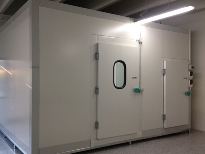 Pulizia delle celle frigorifere